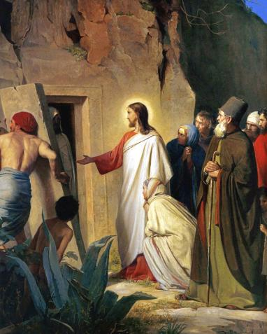 The Lord Jesus Raises Lazarus from the Dead