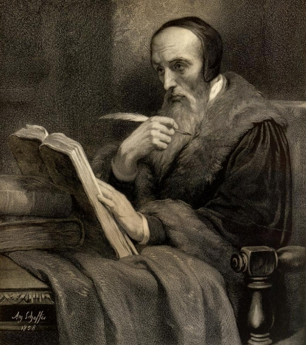 John Calvin 1844 etching
