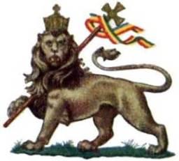 Ethioian Lion Symbol