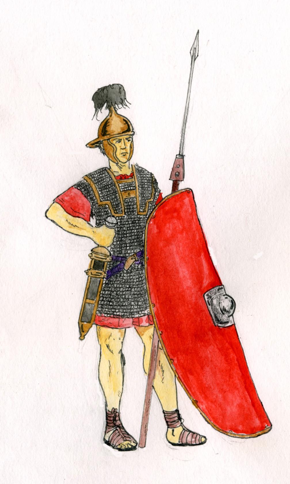 Légionnaire_romain_Ier_siècle_av_JC