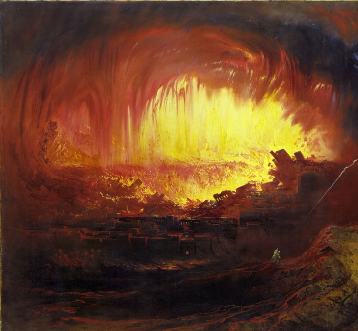 sodom and gomorrah John Martin 1789-1854