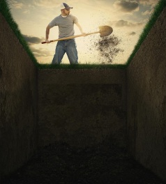 dirt-grave-man-used-shovel-to-throw-empty-39475814