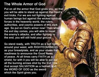 Praying Woman in Armor