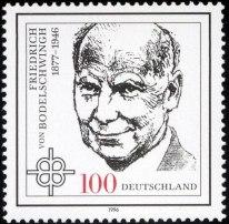 Stamp_Germany_1996_Briefmarke_Friedrich_von_Bodelschwingh