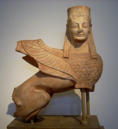 Sphinx from Spata-570BC