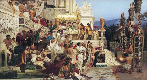 Nero Torching Christians