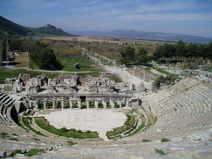 ephesus theater today