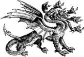 Seven Headed Hydra Monster