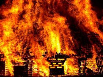 fire falling at Armegeddon